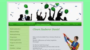 Clown Zauberer Daniel