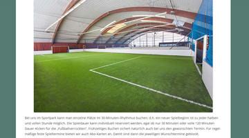 Sportpark Fussball