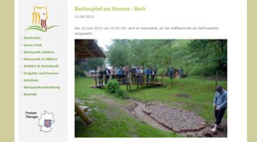 Barfusspfad Hamma Bach