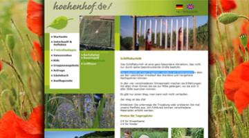Schilflabyrinth Barfussweg
