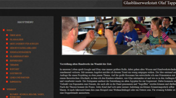 Mobile Glasbläserei Olaf Tappert