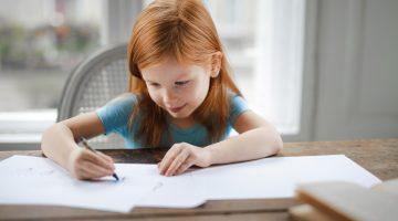 Lesen lernen durch Schreiben