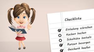 checkliste einschulung