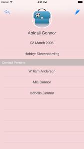 App Jooli - Elternliste