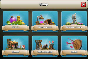 Spielapp - Cash of Clans