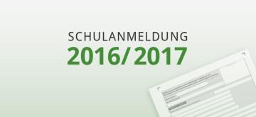 Schulanmeldung 2016/2017 Deutschland