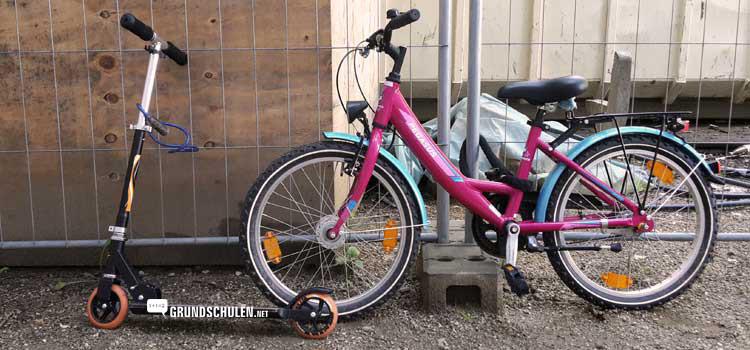 Fahrradprüfung in der Grundschule