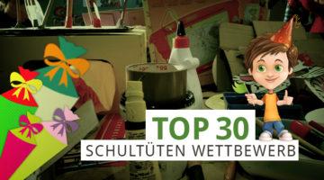 Schultüten Wettbewerb 2017 Top30