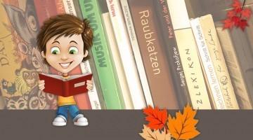 Kinderbücher im Herbst