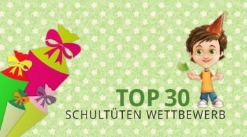 Schultüten Wettbewerb 2015 Top 30
