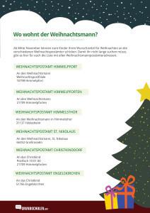Weihnachtsmann Adresse