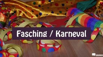 Fasching Karneval Kinderparty