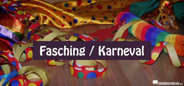 Fasching Karneval Kinderparty