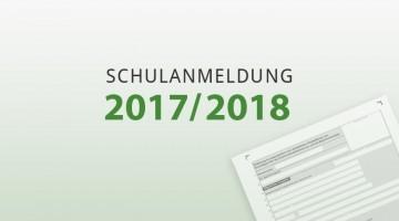 Schulanmeldung 2017/2018