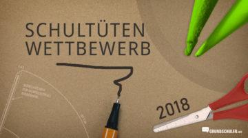 Schultüten Wettbewerb 2018