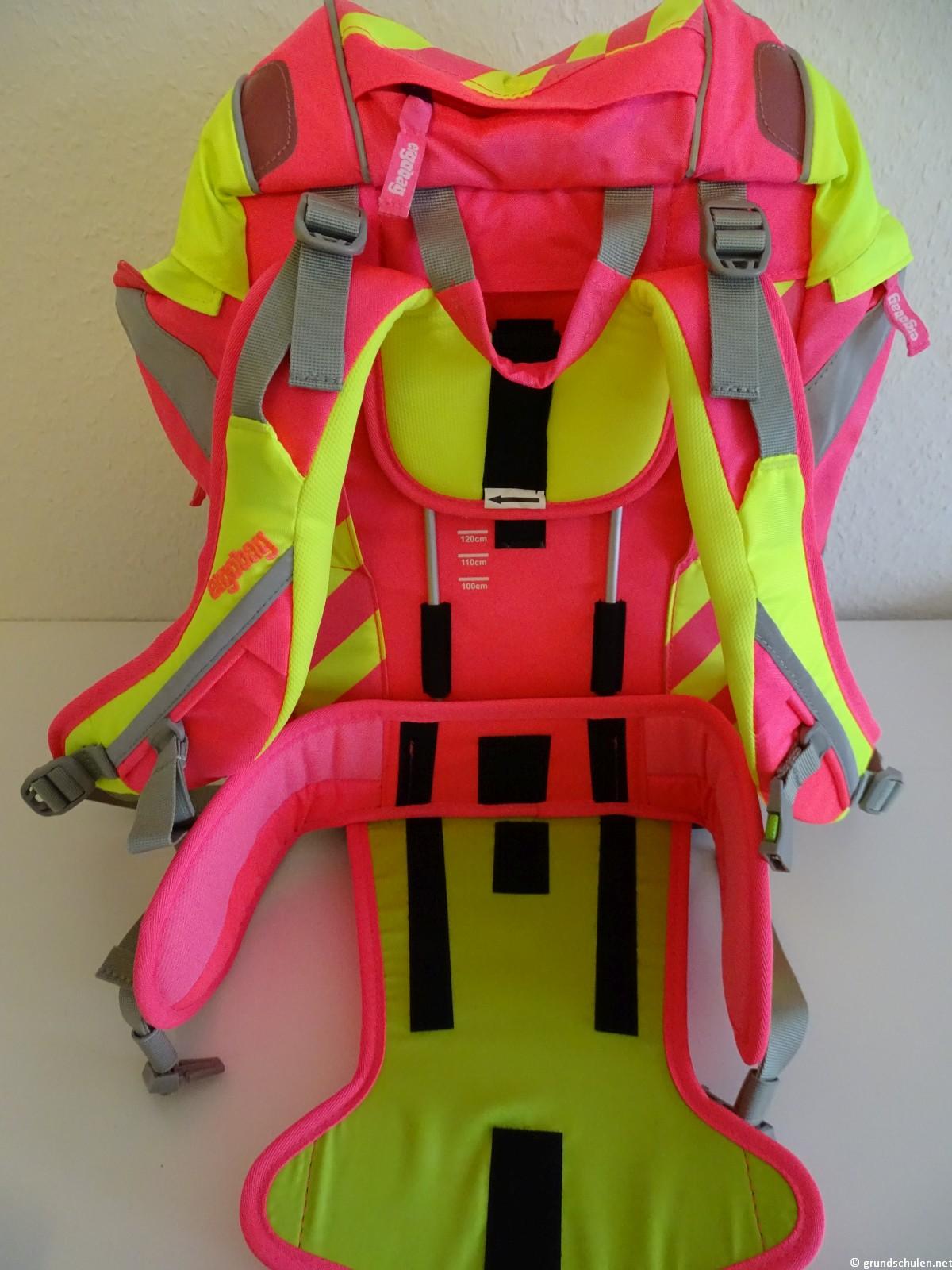 Ergobag Pack Strahlebär Neo Edition Rückenlängenverstellsystem