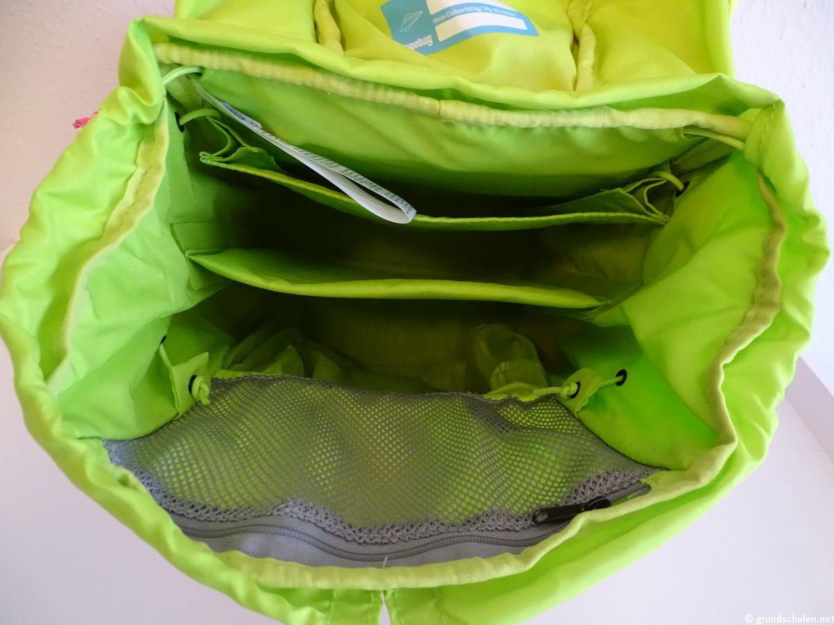 Innenraum Ergobag Pack Strahlebär Neo Edition