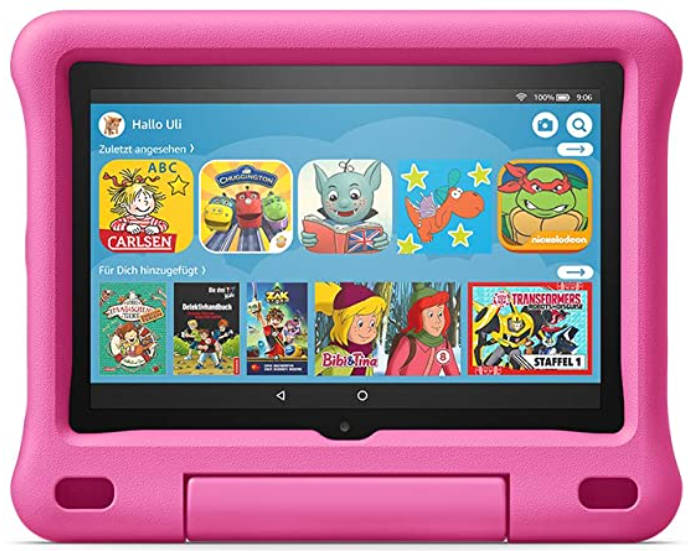 Das Amazon Fire HD 8 Kids Tablet