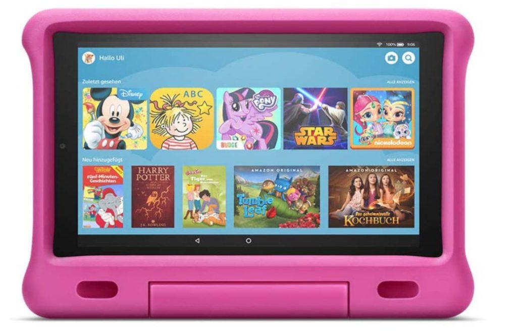Das Fire Tablet für Kids